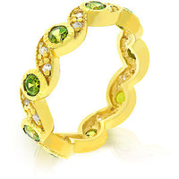 Olive Leaves Eternity Ring-Rings-Here Comes The Bling™