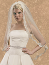 One Tier Alencon Veil-Veils-Here Comes The Bling™