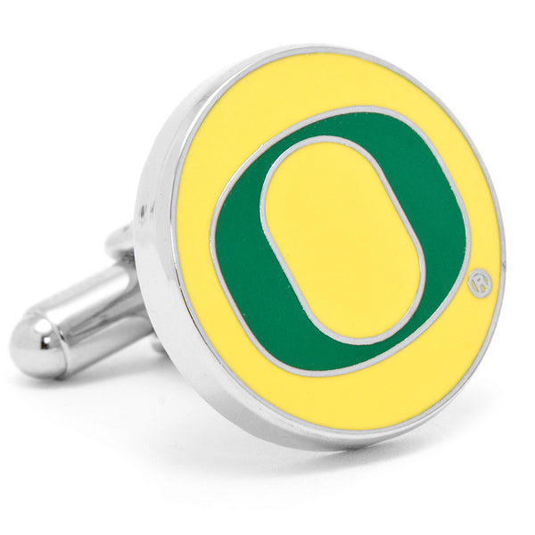 Oregon Ducks Cufflinks-Cufflinks-Here Comes The Bling™