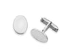 Oval Engravable Cuff Links-Cufflinks-Here Comes The Bling™