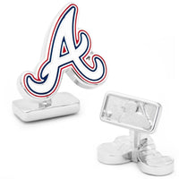 Palladium Atlanta Braves Cufflinks-Cufflinks-Here Comes The Bling™