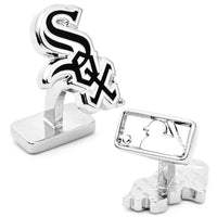 Palladium Edition Chicago White Sox Cufflinks-Cufflinks-Here Comes The Bling™