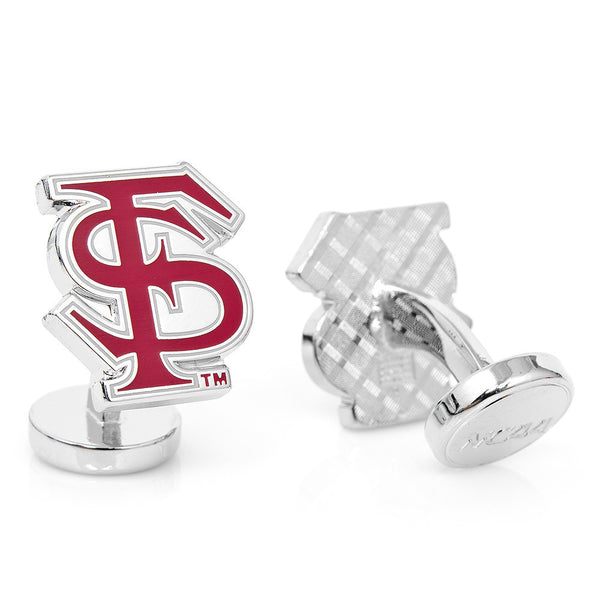 Palladium Florida State Seminoles Cufflinks-Cufflinks-Here Comes The Bling™