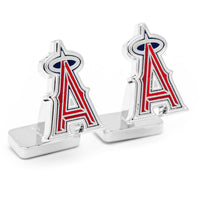 Palladium Los Angeles Angels Cufflinks-Cufflinks-Here Comes The Bling™
