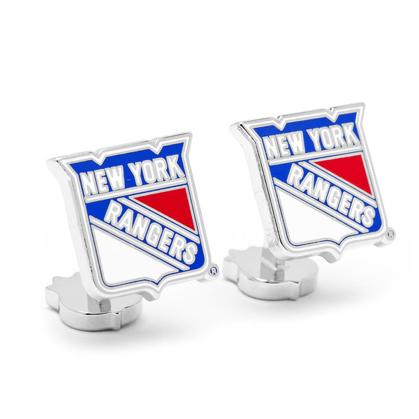 Palladium New York Rangers Cufflinks-Cufflinks-Here Comes The Bling™