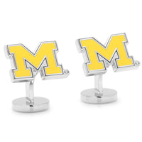 Palladium University of Michigan Wolverines Cufflinks-Cufflinks-Here Comes The Bling™