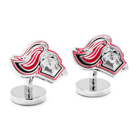 Palladium University of Rutgers Scarlet Knight Cufflinks-Cufflinks-Here Comes The Bling™