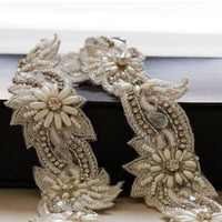 Pasha Bridal Sash by Millieicaro-Sash-Here Comes The Bling™