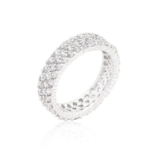 Pave Eternity Ring-Rings-Here Comes The Bling™