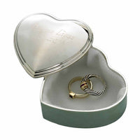 Personalized Heart Trinket Box-Jewelry Box-Here Comes The Bling™
