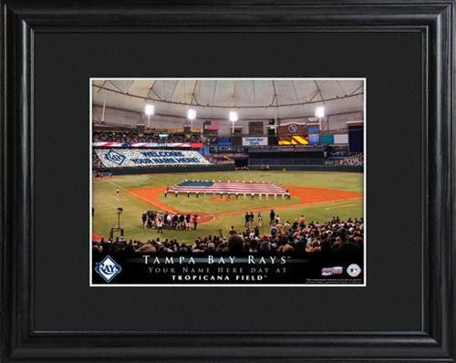 Personalized MLB Stadium Print - RAYS-Art-Here Comes The Bling™