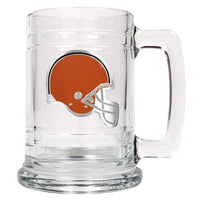 Personalized NFL Emblem Mug - BROWNS-Beer Mugs-Here Comes The Bling™
