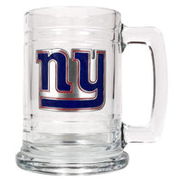 Personalized NFL Emblem Mug - GIANTS-Beer Mugs-Here Comes The Bling™