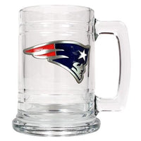 Personalized NFL Emblem Mug - PATRIOTS-Beer Mugs-Here Comes The Bling™