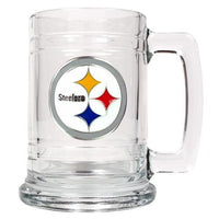 Personalized NFL Emblem Mug - STEELERS-Beer Mugs-Here Comes The Bling™