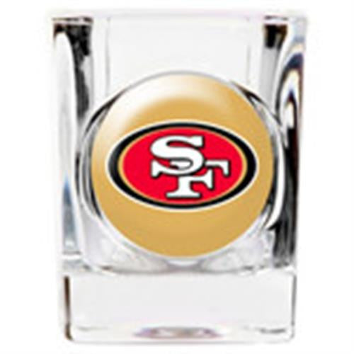 Personalized NFL Shot Glass - 49ER'S-Shot Glass-Here Comes The Bling™