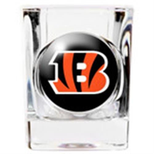 Personalized NFL Shot Glass - BENGALS-Shot Glass-Here Comes The Bling™
