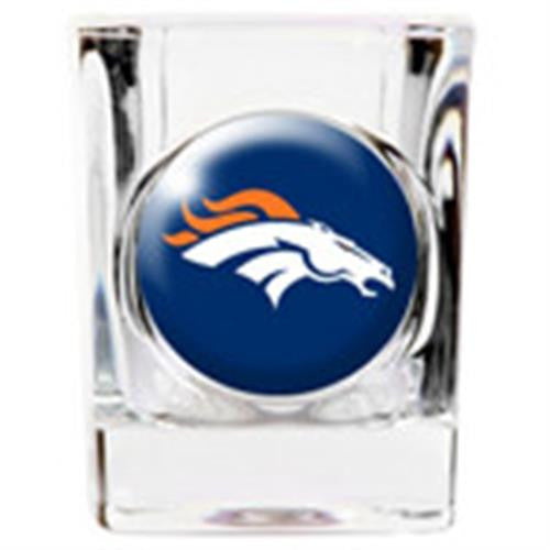 Personalized NFL Shot Glass - BRONCOS-Shot Glass-Here Comes The Bling™