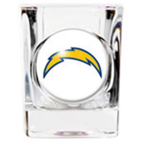 Personalized NFL Shot Glass - CHARGERS-Shot Glass-Here Comes The Bling™