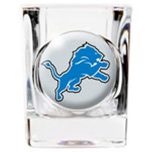 Personalized NFL Shot Glass - LIONS-Shot Glass-Here Comes The Bling™