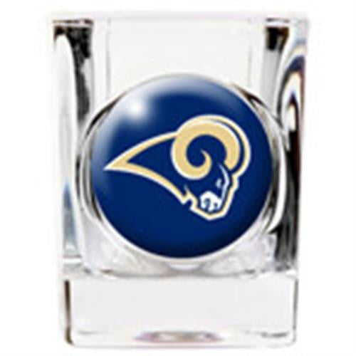 Personalized NFL Shot Glass - RAMS-Shot Glass-Here Comes The Bling™