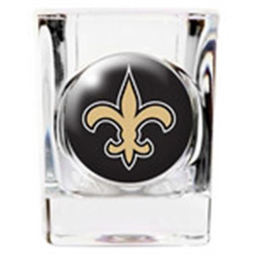 Personalized NFL Shot Glass - SAINTS-Shot Glass-Here Comes The Bling™