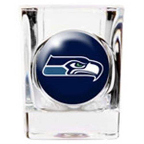 Personalized NFL Shot Glass - SEAHAWKS-Shot Glass-Here Comes The Bling™
