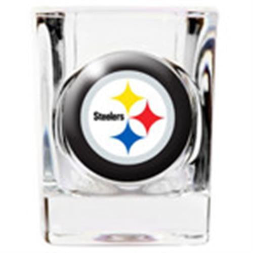 Personalized NFL Shot Glass - STEELERS-Shot Glass-Here Comes The Bling™