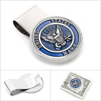 Pewter U.S. Navy Money Clip-Money Clip-Here Comes The Bling™