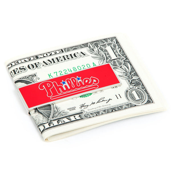 Philadelphia Phillies Money Clip-Money Clip-Here Comes The Bling™