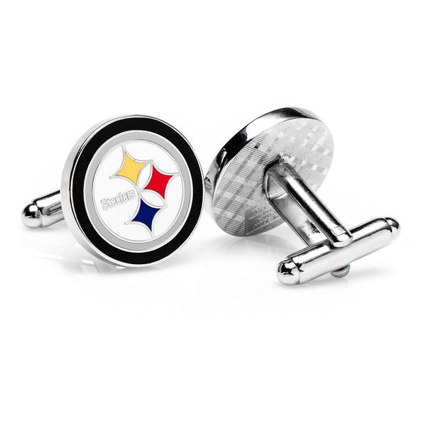 Pittsburgh Steelers Cufflinks-Cufflinks-Here Comes The Bling™