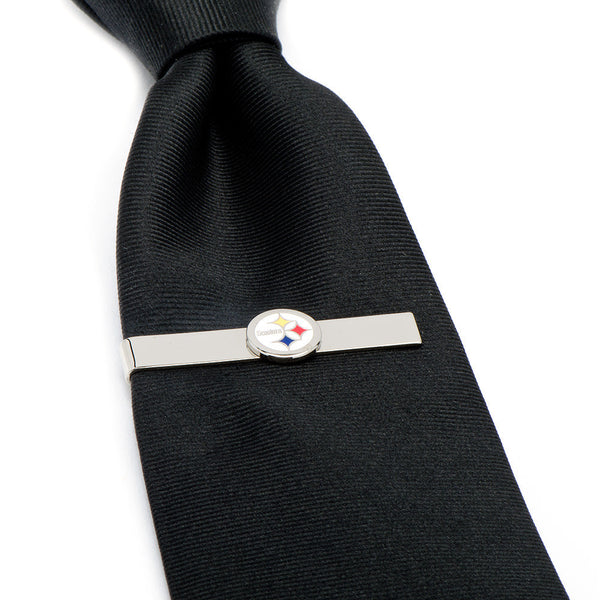 Pittsburgh Steelers Tie Bar-Tie Bar/Tie Clip-Here Comes The Bling™