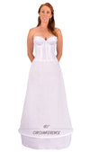 "Plus Size - 1 Ring 60"" Hoop Skirt Petticoat-Hoop Skirt-Here Comes The Bling™"