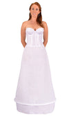 "Plus Size - 1 Ring 72"" Hoop Skirt Petticoat-Hoop Skirt-Here Comes The Bling™"