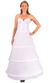 "Plus Size - 3 Ring 104"" Hoop Skirt Petticoat-Hoop Skirt-Here Comes The Bling™"