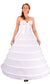 "Plus Size - 6 Ring 144"" Hoop Skirt Petticoat"