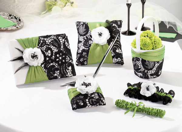 Prepack Green & Black Collection-Decor-Sets-Here Comes The Bling™