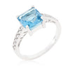 Princess Jasmine Ring in Blue Topaz-Rings-Here Comes The Bling™