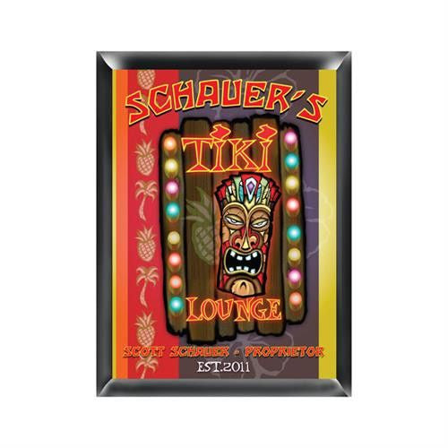 Pub Sign -Tiki-Sign-Here Comes The Bling™