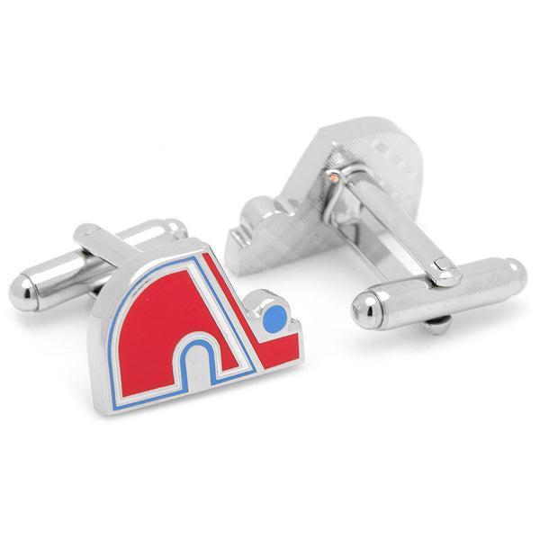 Quebec Nordiques Cufflinks-Cufflinks-Here Comes The Bling™