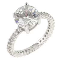Queen Anne Clear Ring-Rings-Here Comes The Bling™