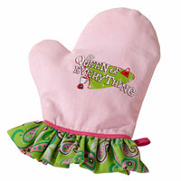 Queen of Everything Oven Mitt-Apron-Here Comes The Bling™