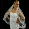 Couture Chantilly Lace Trimmed Bridal Veil