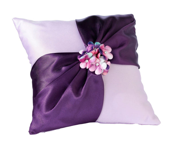Radiant Flower Ring Pillow-Ring Pillow-Here Comes The Bling™