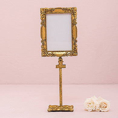 Rectangular Baroque Standing Frame - Gold