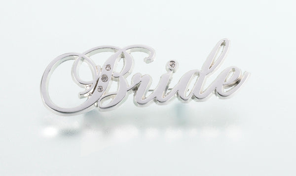Rhinestone Bride Pin-Pin-Here Comes The Bling™