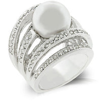 Right-Hand Pearl Ring-Rings-Here Comes The Bling™