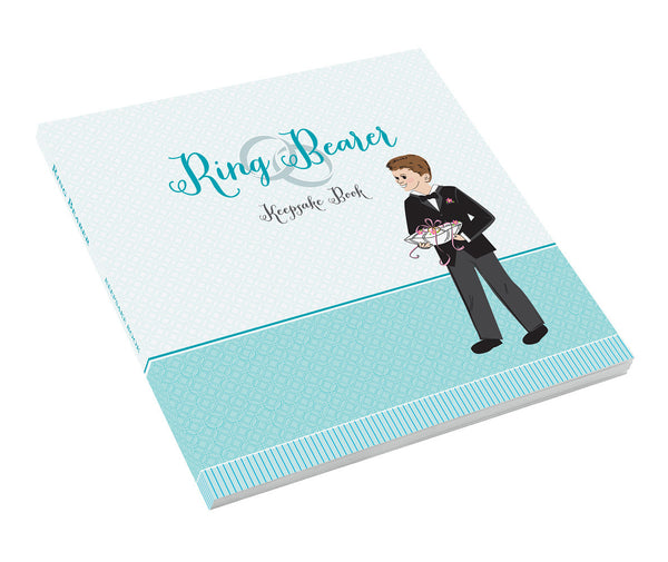 Ring Bearer Keepsake Book-Memory Book-Here Comes The Bling™