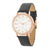 Rose Gold Shell Pearl Watch With Crystals