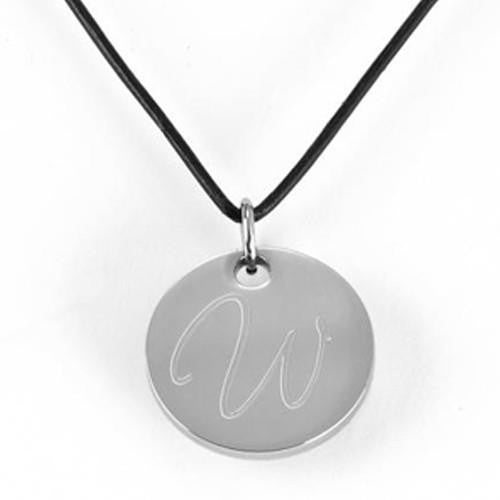 Round Pendant Necklace-Mens-Necklaces-Here Comes The Bling™